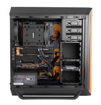 Silent Base 800 orange side