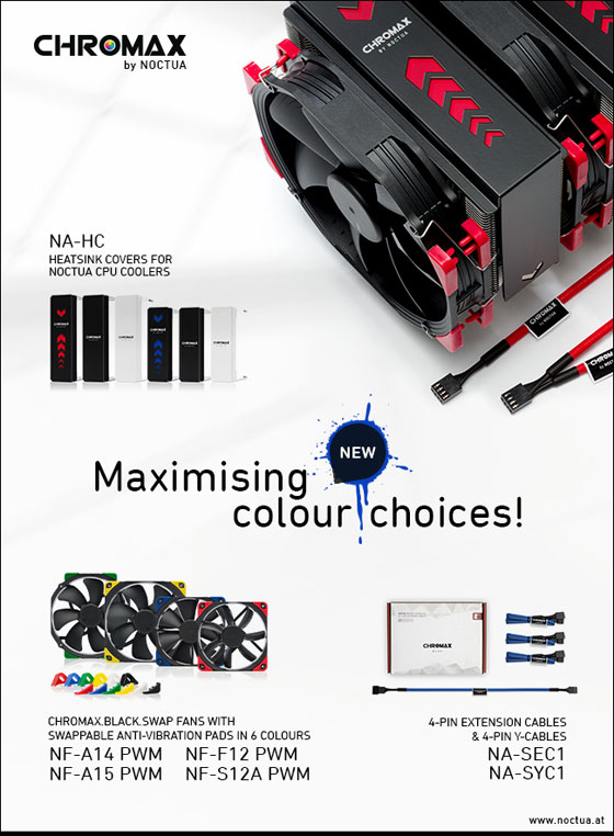 noctua new chromax products