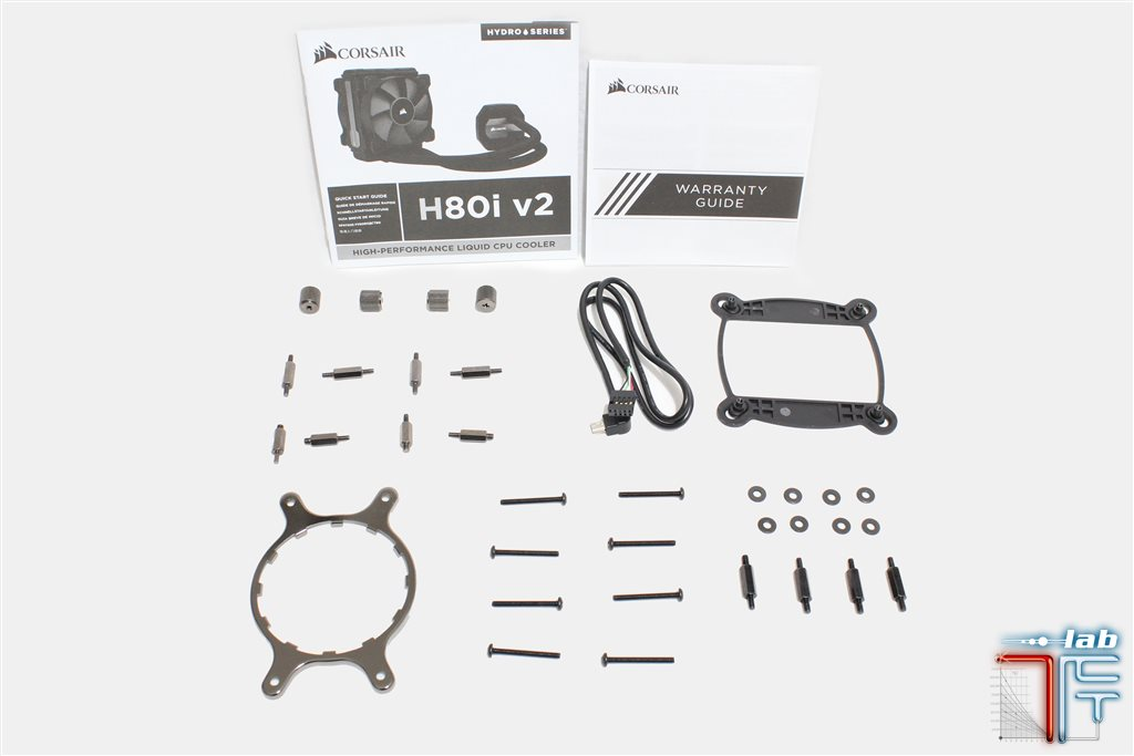Corsair h80i v2 bundle