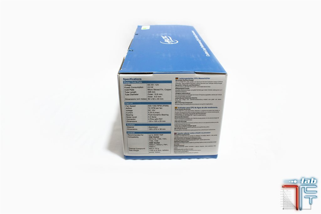 arctic liquid freezer 240 package