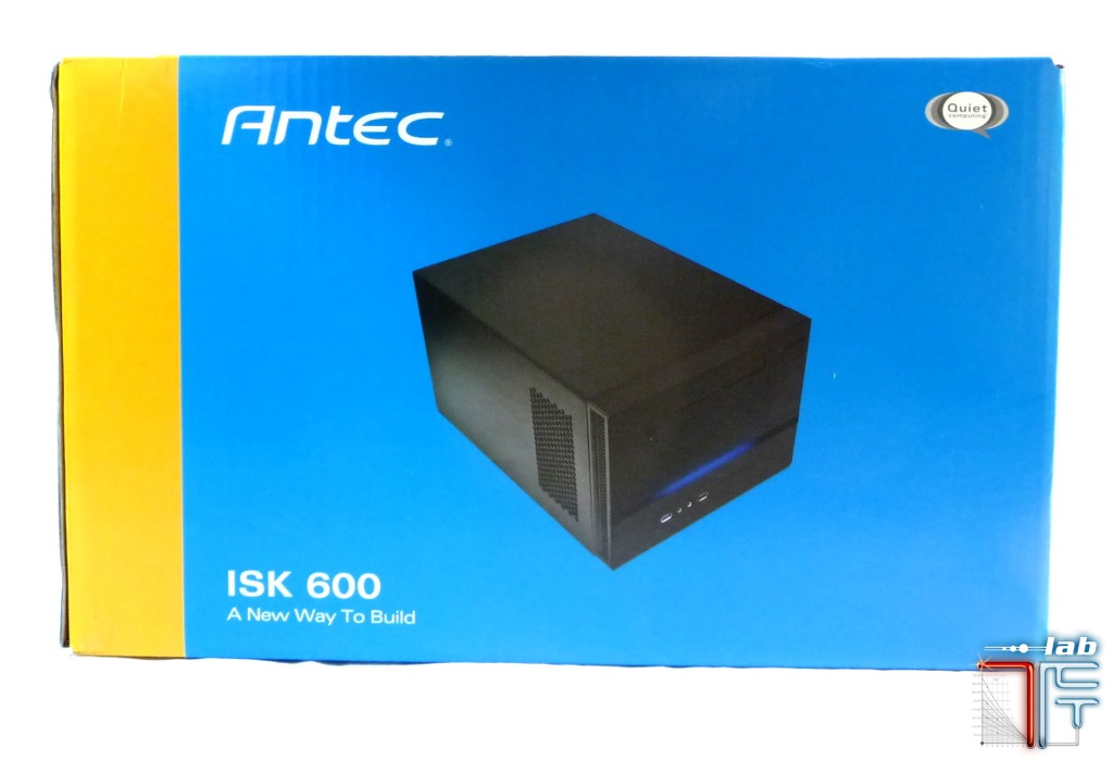 Antec ISK 600 box side back