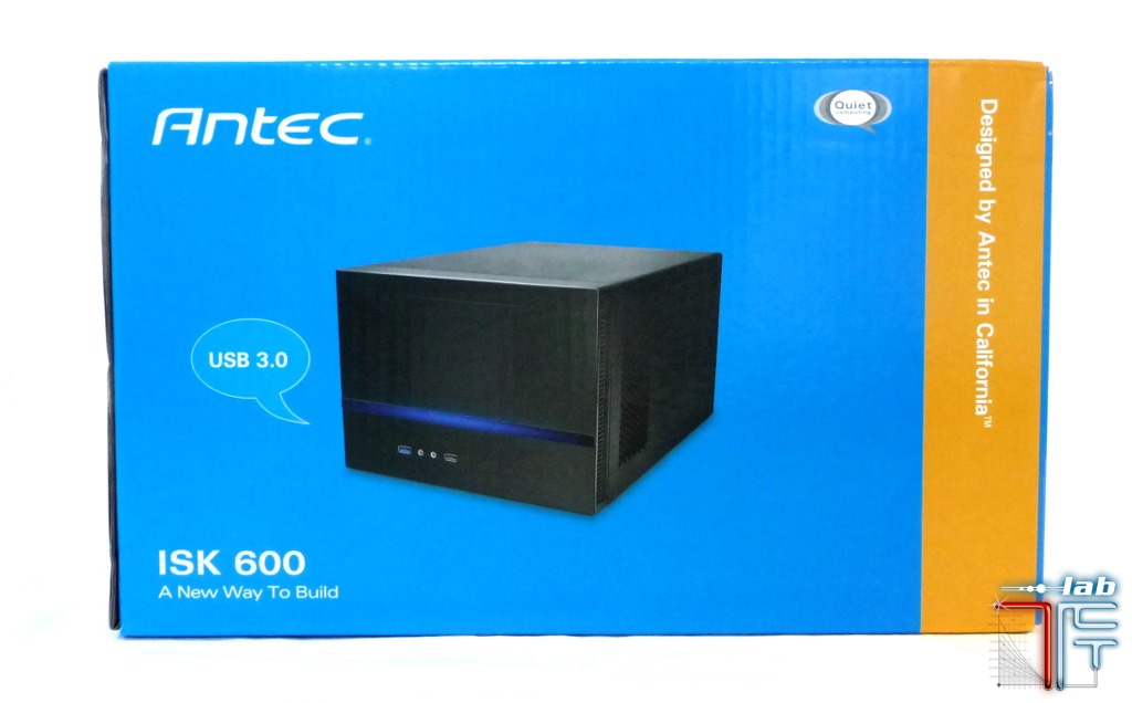Antec ISK 600 box side front