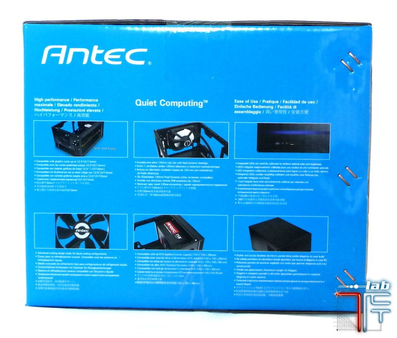 Antec ISK 600 box side left