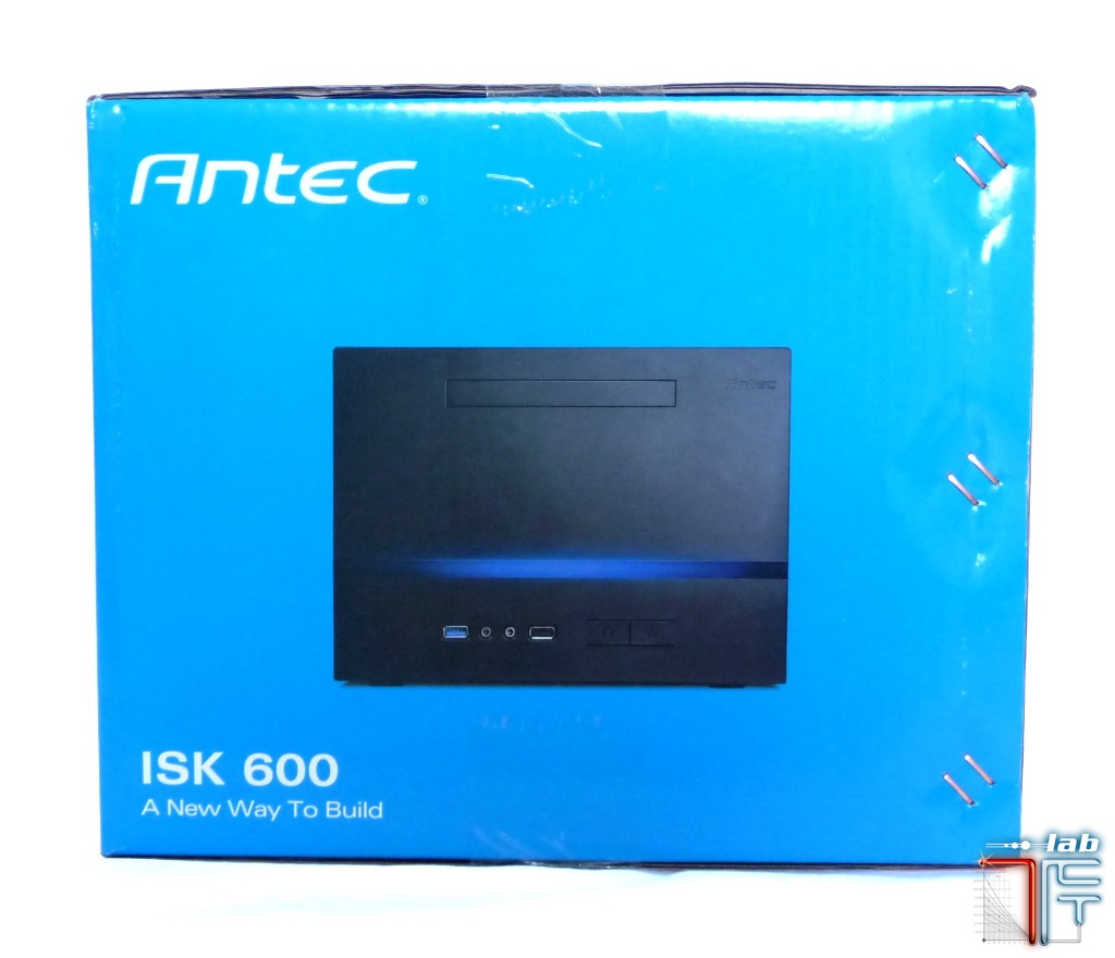 Antec ISK 600 box side right