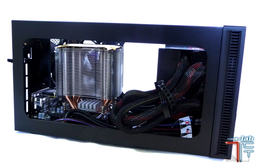 Antec ISK 600 integration mobo 1