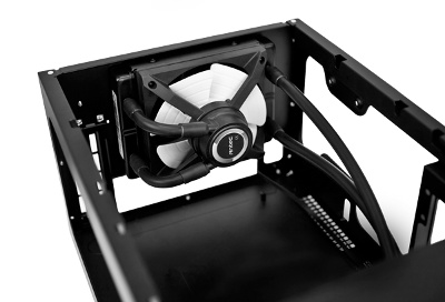 Antec ISK 600 preview radiator