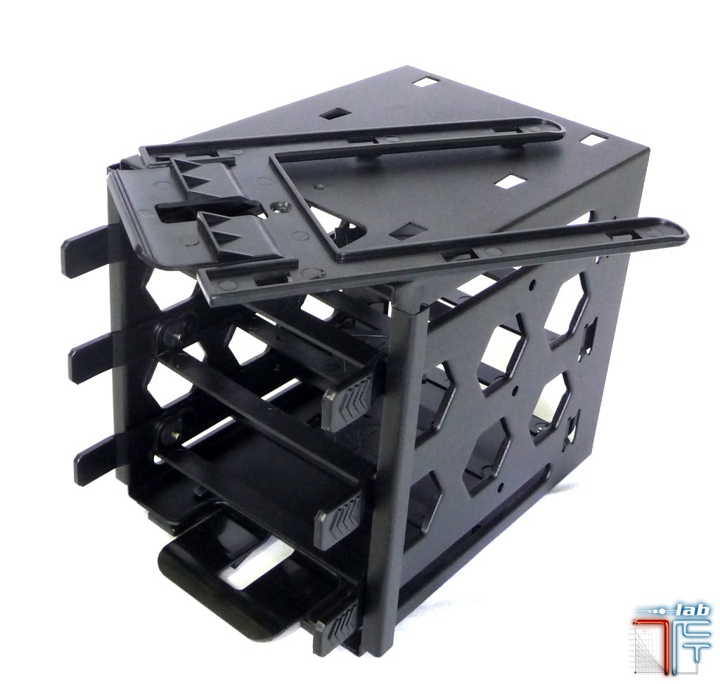 bitfenix colossus hdd rack top