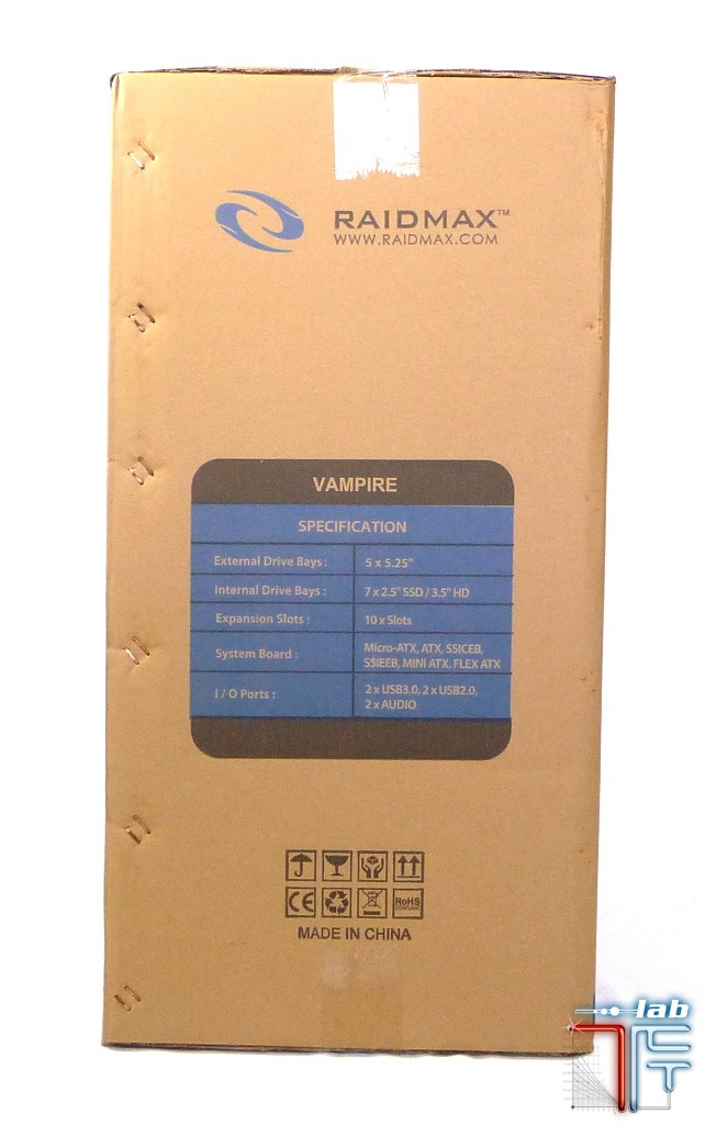 Raidmax Vampire box2 left