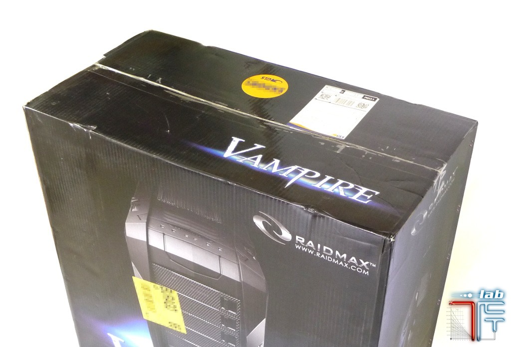 Raidmax Vampire box top