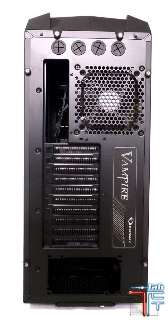 Raidmax Vampire case back