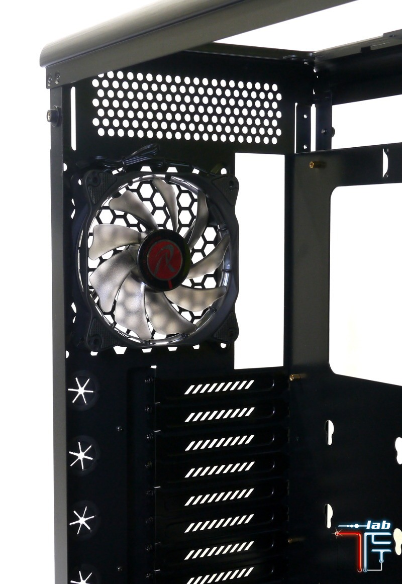 Asterion cooling back fan