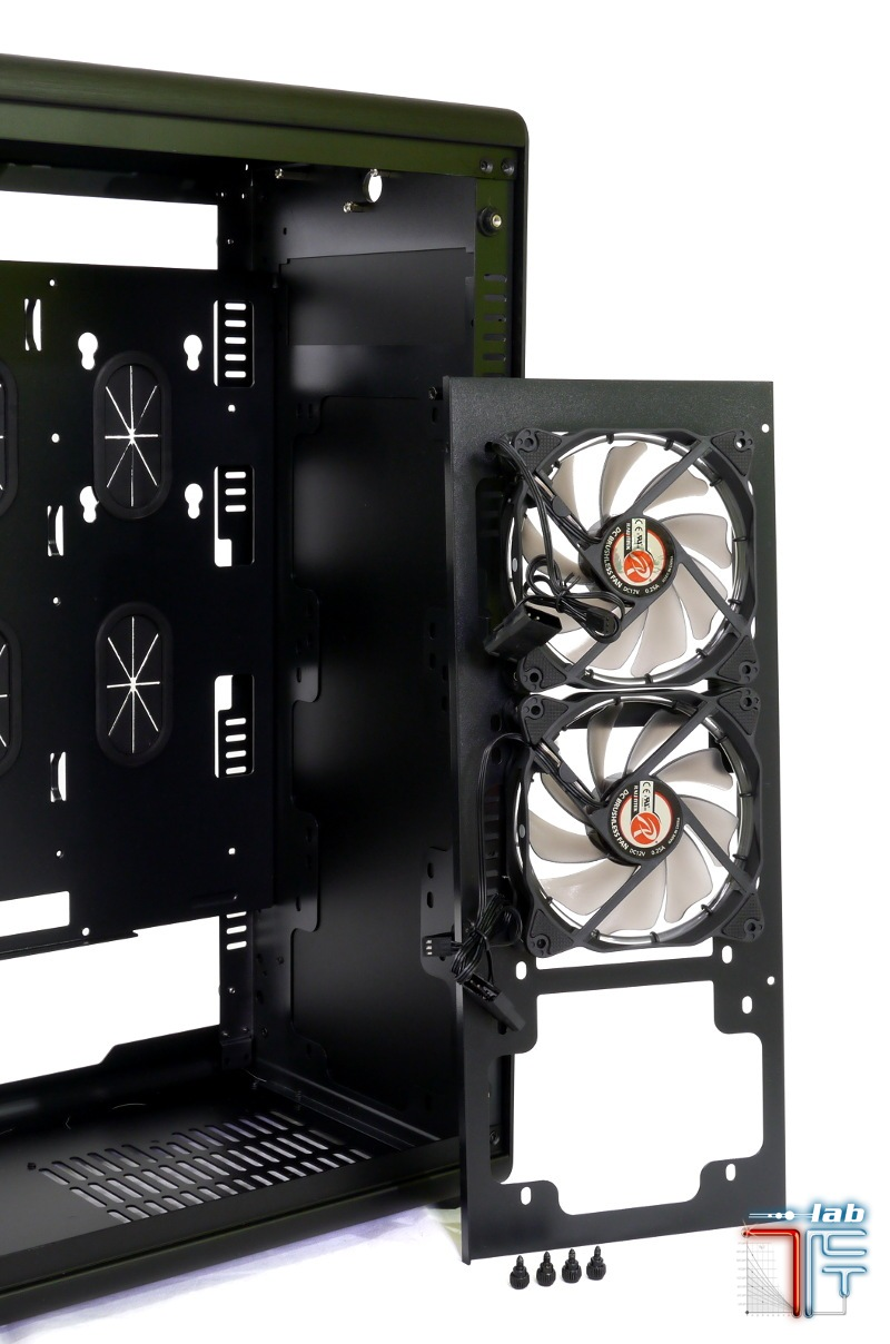 Asterion frame detail frontal fan