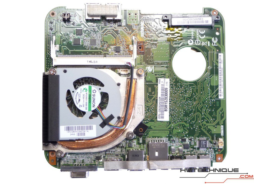 Edge HD2 Motherboard Front