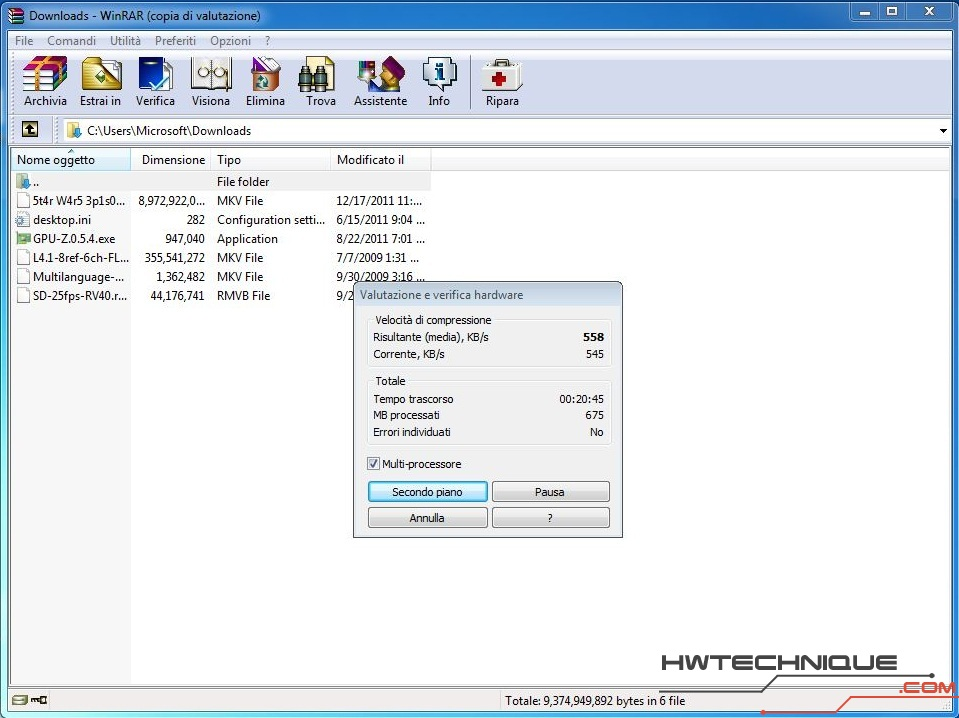 Edge HD2 Winrar Multicore