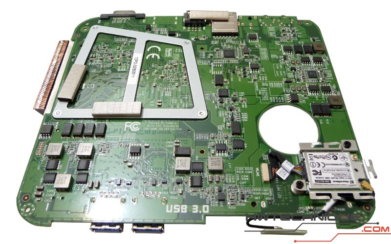 EDGE HD3 Motherboard Back