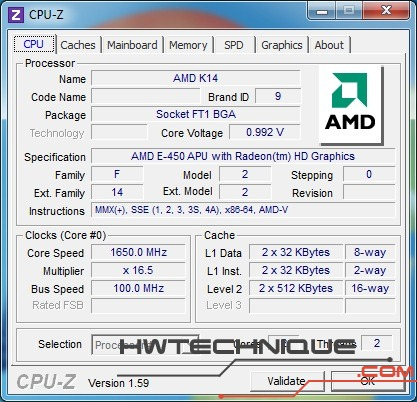 EDGE HD3 cpu-z 1