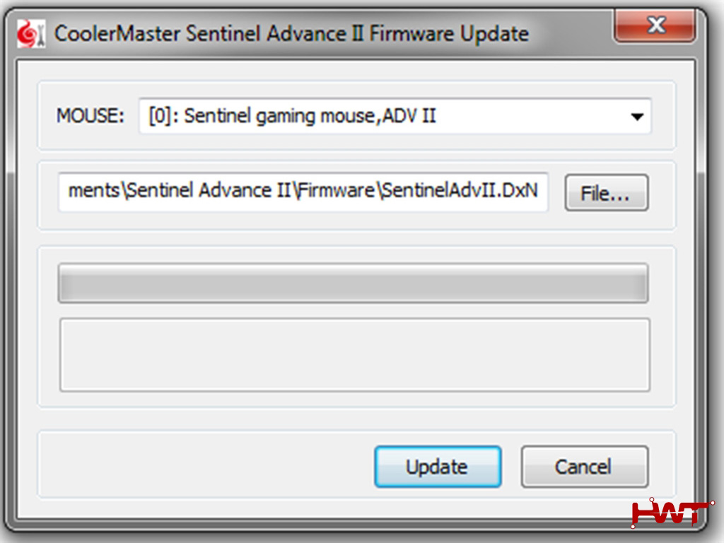Sentinel advance II update firmware