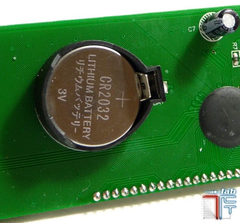 lcd pcb battery